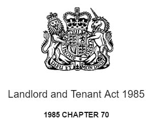 landlord-and-tenant-act-1985